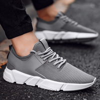 latest design fashion mesh men sport shoes running