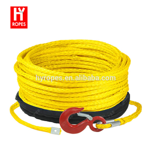synthetic car towing rope winch rope