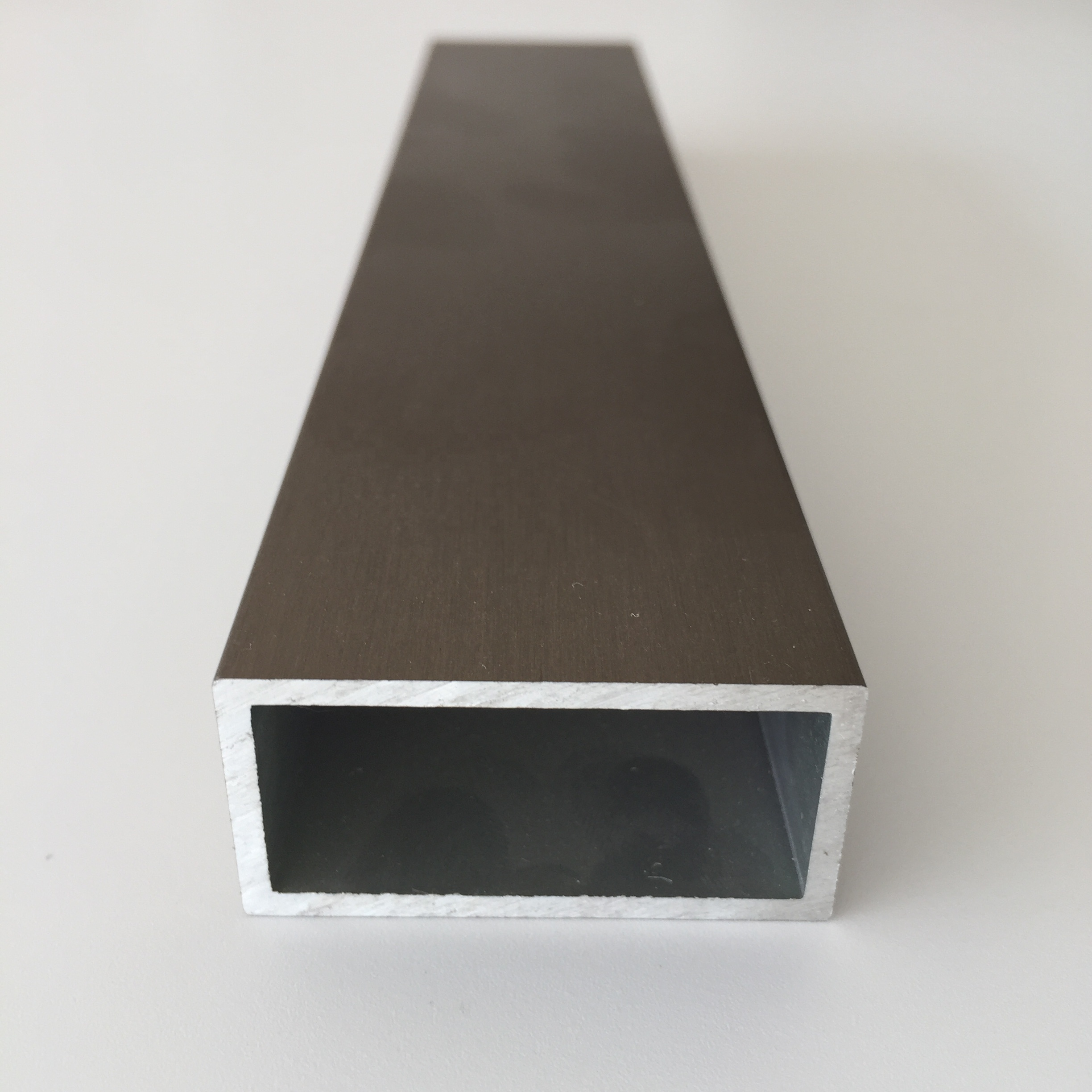 Factory Direct Customized 6061 6063 Extruded Aluminum Hollow Square Rectangular Tube Pipe