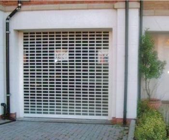Ventilation Door Grille Design Security Stainless Steel Rolling