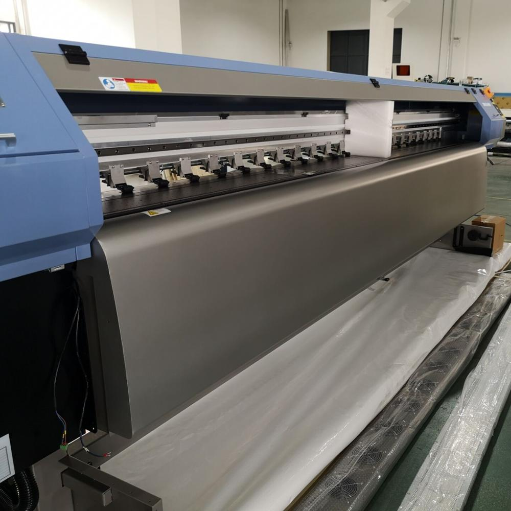 HOT sale 3.2m 126'' width 3000W two DX5 Heads sublimation eco solvent printer for transfer textile