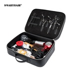 Salon Hairdressers Leather Barber Tool Bag Hairdressing Scissors Hair Stylist Beauty Case Haircut