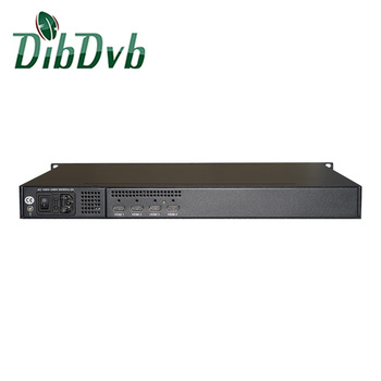 Digital tv broadcasting headend 4 channel encoder h.265 mpeg4 hardware