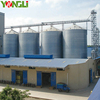 Customizable Hot Galvanized Capacity 10000 tons Grain Storage Silo for sale