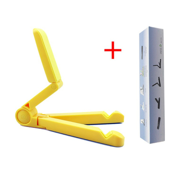 Lowest price ABS folding Portable mobile phone holder universal lazy holder desktop base bracket triangle tablet PC bracket