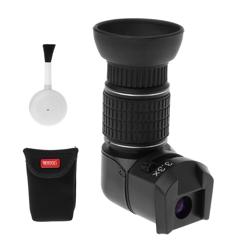 1X-3.3X Góc Bên Phải Kính Ngắm Adapter Đối Với Canon Nikon Pentax Máy Ảnh Kỹ Thuật Số