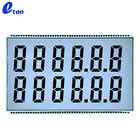 Reasonable Price HTN 12 digit 7 Segment Display Fuel Dispenser Lcd