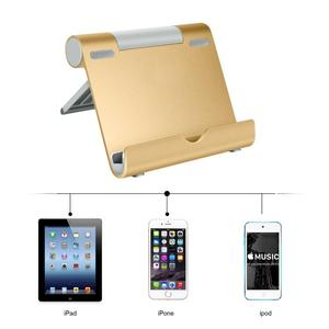 Cell Phone Stand Desk Folding Mobile Phone Holder for Cell Phone and Tablet