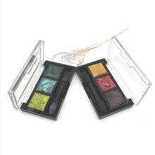 2019 hot verkoper groothandel cosmetica custom make-up eyeshadow palette