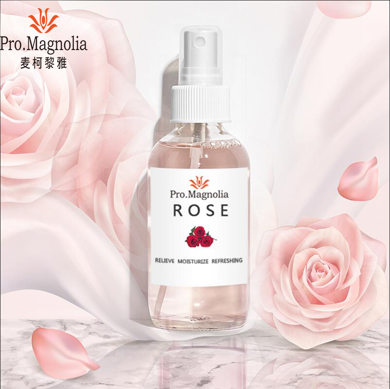 Private Label Gesichts Rose Wasser Toner Gesicht Nebel Spray