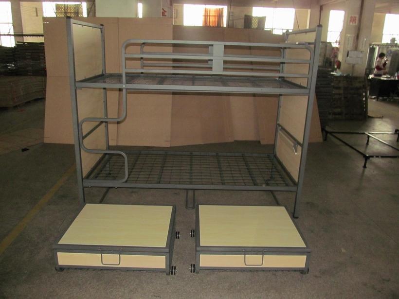 school adult metal hotel bunk bed for bedroom Hostel bunk bed