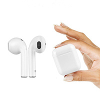 i9s tws bt5.0 Earphone Wireless Headsets Bass stereo Earbuds for Iphone
