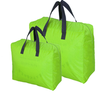 55L Organic Cotton High quality Comfortable and No-Smell Fabric Under Bed Storage Bag With Reinforced Handles