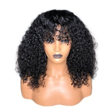 Free 얽힌 표피 정렬되지 브라질 인간의 Hair <span class=keywords><strong>곱슬</strong></span> Lace Front Wig 와 Glueless)