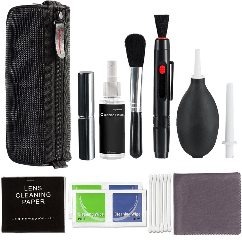 Professionele DSLR Lens Camera Cleaning Kit/Spuitfles Lens Pen Borstel Blower 2019 Nieuwe Collectie fashion