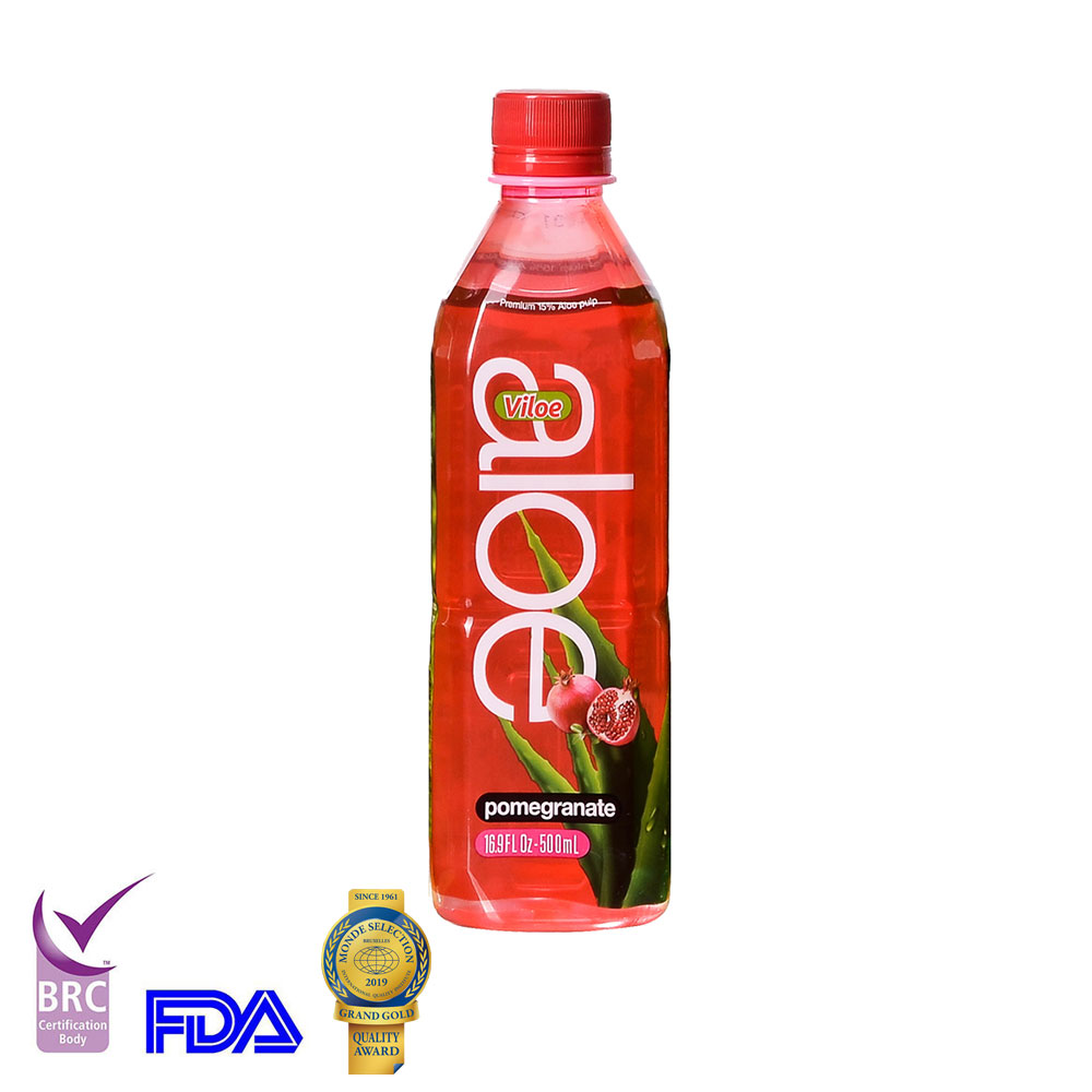 1.5 L Pure fresh Aloe vera soft juice drink from organic farms with FDA BRC KOSHER certificate