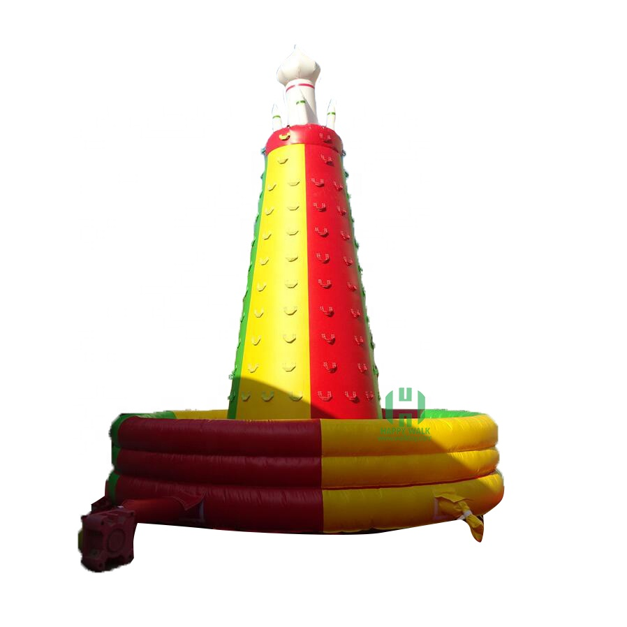 HI China Commercial เด็ก Inflatable Rock Climbing Wall, Inflatable Climbing Wall ผู้ผลิต