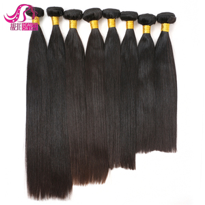 Grade 6a Brazilian Virgin Straight Hair 3 Bundles lot Human Hair Weave 100g/bundle Tissage Bresilienne Natural Black Virgin Hair