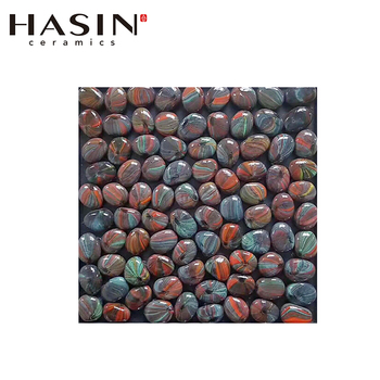 Natural Colored Flat Pebble River Stone Price