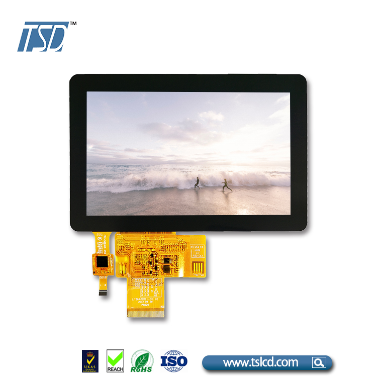 Touchscreen 800x480 kapazitiven touch panel 5 zoll tft lcd