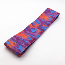Online Verkoop <span class=keywords><strong>Paars</strong></span> Camouflage Stijl Antislip Hip <span class=keywords><strong>Band</strong></span> Booty Oefening Resistance Bands