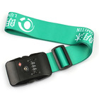 Sublimation suitcase belts luggage strap TSA with release buckle