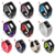 Soft Breathable Sport Strap Dual Colors Replacement Wristband For Fitbit Charge 3 Silicone Bands
