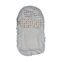 Car Seat Footmuff 100% Cotton Baby sleeping bag Baby Broderie Stroller Footmuff Embroidery Fabric