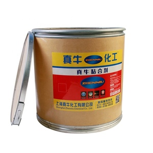 Fast drying mucilage Glue for paper cardboard edge sealing