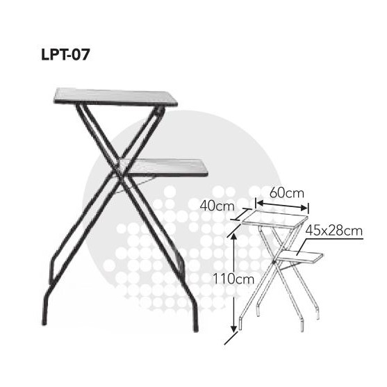 LPT-07 mobiele laptop & projector stand/laptop & projector statief