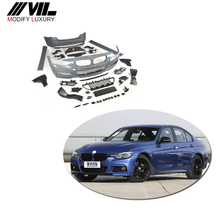 Voor BMW F30 body <span class=keywords><strong>kit</strong></span> 3 SERIE M3 FRP Glasvezel breed <span class=keywords><strong>auto</strong></span> bumper