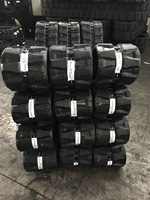 Good quality Rubber Track Assembly for Kobelco SK80MSRmini digger rubber crawler used YuChai YC35r rubber belts