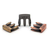 Full Metal High Quality Violin Mute for Practice for 3/4 and 4/4 Violin 3 Colours