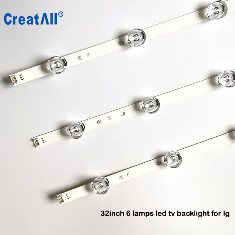 Strict 30x Led Backlight For Lg Innotek Drt 3.0 32_a/b 6916l-1974a 1975a 32mb25vq Lv320due 32lf5800 Sung Wei 55vo E74739 59cm 6 Lamps 100% High Quality Materials Computer Cables & Connectors