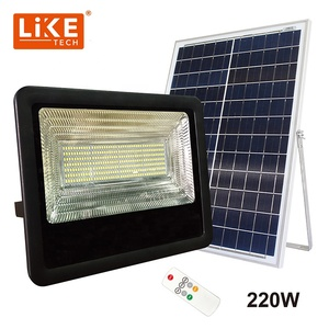 LikeTech Solar Flood Light 200W 220W 350PCS Super Bright LED Shine bright in your Garden