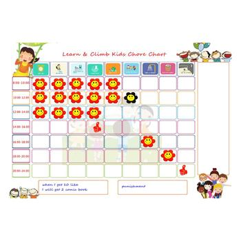 High Quality Reward Chart Fridge Magnet Writing Board Magnetic Board