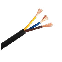 BVR 3 core 4mm stranded copper PVC insulated flexible power cable