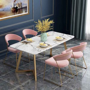 Cheap Marble Coffee Cafe Bar Table And Chair Set Fast Food Restaurant Living Dining Marble Table And Chair Set