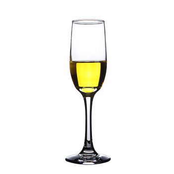 Customized logo promotional gifts perfect fit pub wedding cheer crystal goblet 6oz 7oz 8oz flute champagne glasses