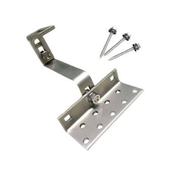 SOEASY-10 Aluminum Tile Roof Mounting Brackets For 100KW Solar Home Used