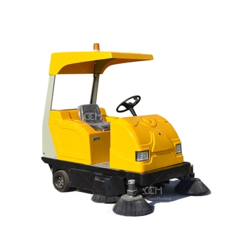 E800  battery floor sweeper wet industrial floor sweeper sidewalk sweeper
