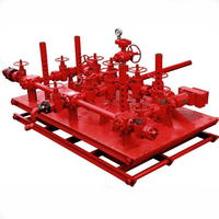 API 16C Standards High Quality Choke and Kill Manifold for Oil Well Control