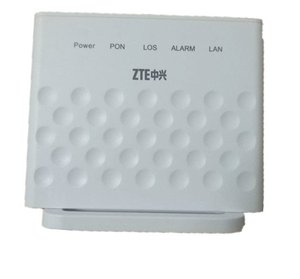 Used original brand zte epon onu ZTE F401 1GE ONU EPON with english firmware