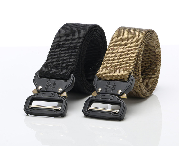 Men/'s Canvas Belt Army Duty Military Utility Belt Equipment Gear Outdoor Belt