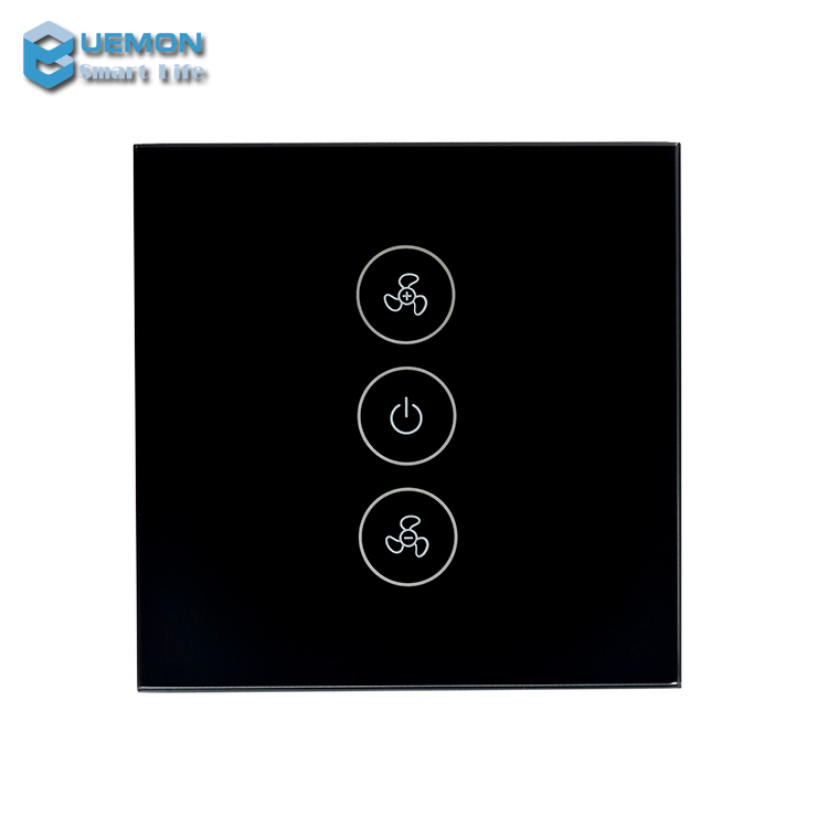 UEMON Smart Home tuya smart leven APP WiFi smart dimmer switch plafond ventilator