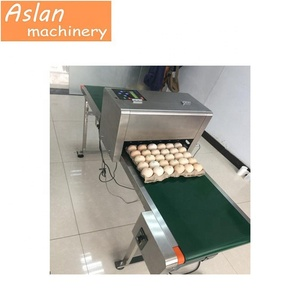 30000 characters per hour egg inkjet coding machine /egg code stamper machine / logo printing machine for eggs