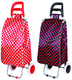 Spain caddy trolley bags foldable for supermarket shopping