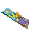cheap art paper thick paper Laminated film embossing children 3D book printing