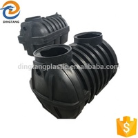 2000L plastic septic tank for sale with high quality