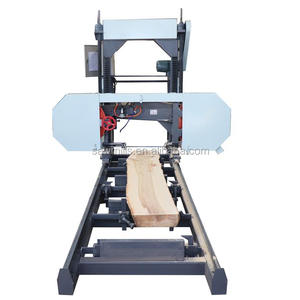China Brand Saw Machines Woodworking Wood Cutting Portable Sawmill Machine